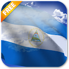 3D Nicaragua Flag Live Wallpaper icon