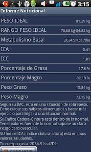 Informe Nutricional- screenshot thumbnail