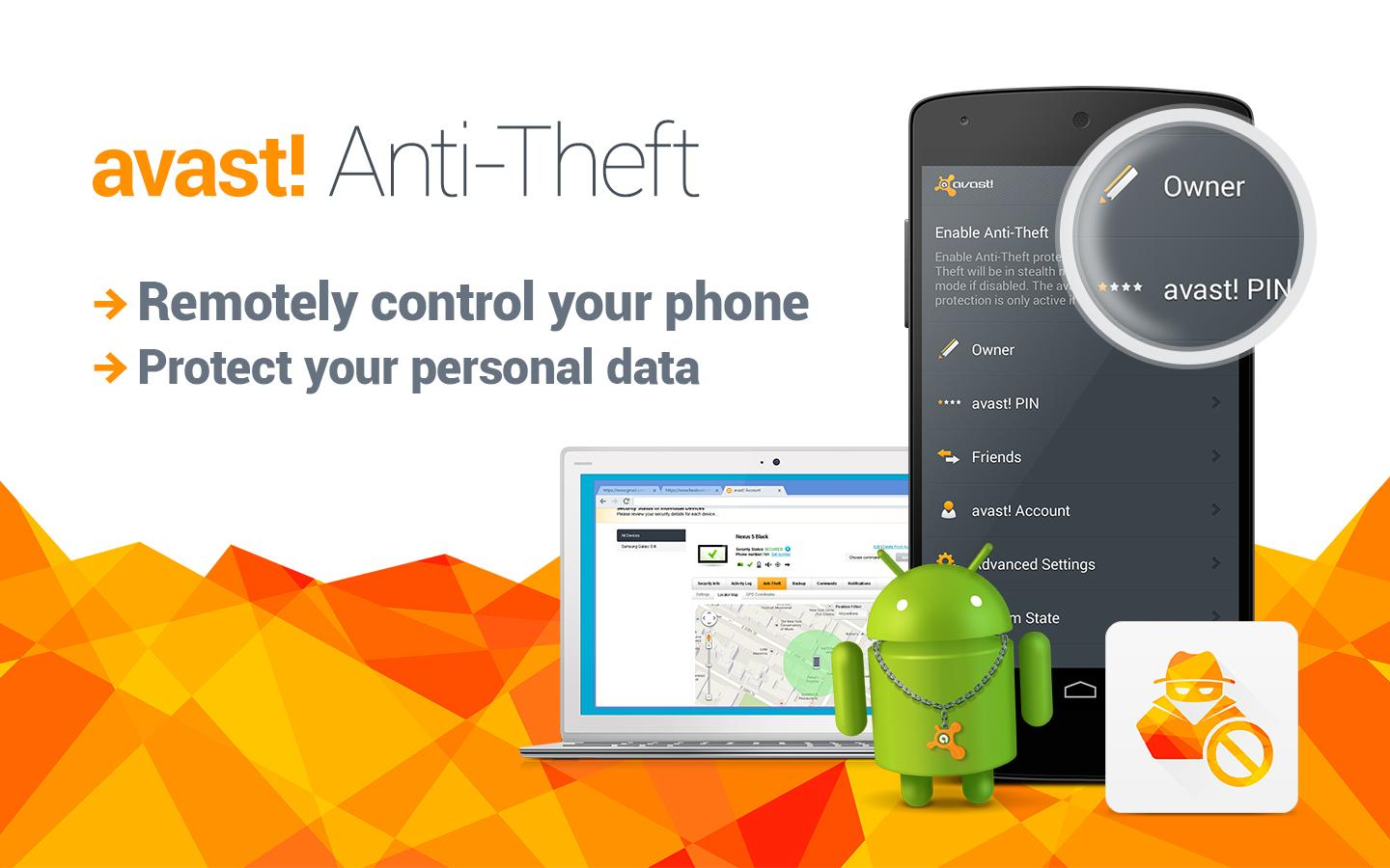Avast Anti-Theft - screenshot