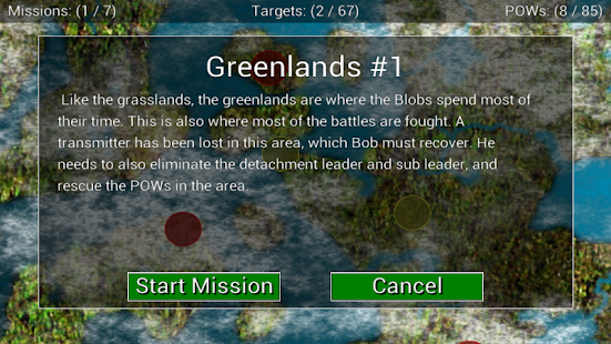 Blob Wars : Attrition screenshot