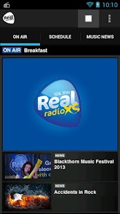 Real Radio XS - screenshot thumbnail