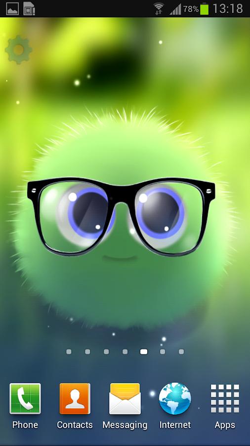 Fluffy Chu Live Wallpaper - screenshot