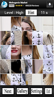 Martina Stoessel Puzzle Game - screenshot thumbnail