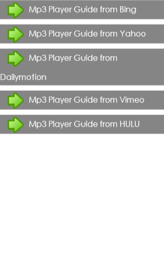 Mp3 Player Guide
