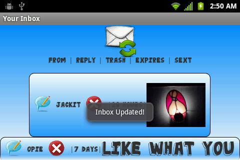 Safe Sexting - screenshot