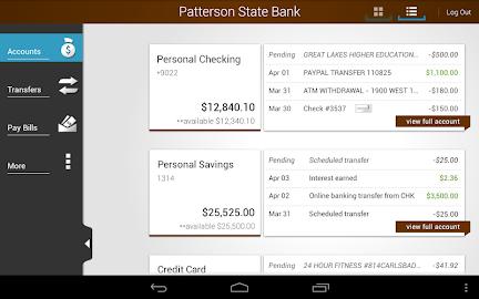 Patterson State Bank Mobile Screenshot 16