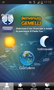 Astri di Paolo Fox - screenshot thumbnail