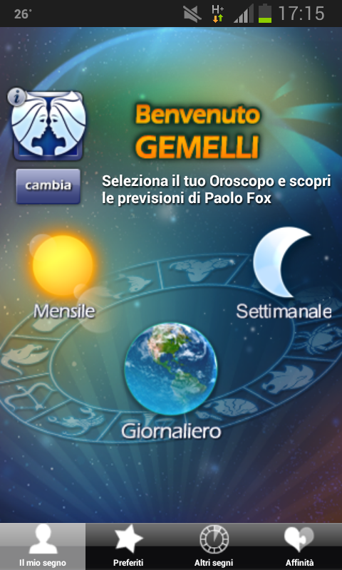 Astri di Paolo Fox - screenshot