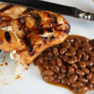 Easy Grilled Spicy Chicken.