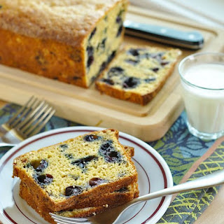 Blueberry-Oat Quick Bread.