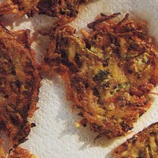 Zucchini-Potato Pancakes.