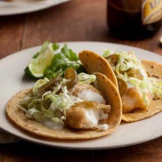Baja Style Fish Tacos Recipe