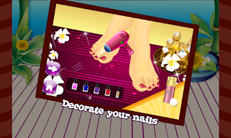 Screenshot of Toe Nail Art – Girls Game