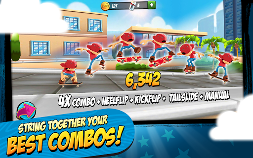 Epic Skater v1.1.5 [Unlimited Coins/Soda]