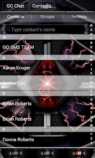 RAZR GO SMS Theme - screenshot thumbnail