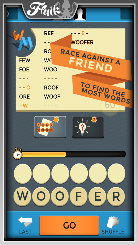 Word Meister Friends Free- screenshot