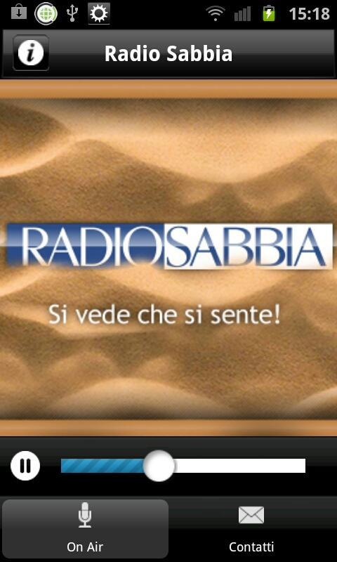 Radio Sabbia- screenshot