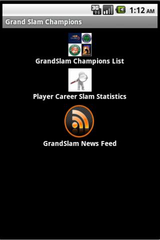 Tennis GrandSlam Champs Lite- screenshot
