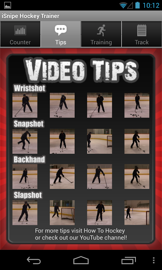 iSnipe Hockey Shooting Trainer- screenshot