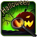 Halloween. Hidden objects icon