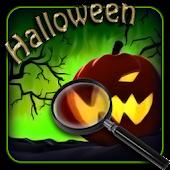 Halloween. Hidden objects