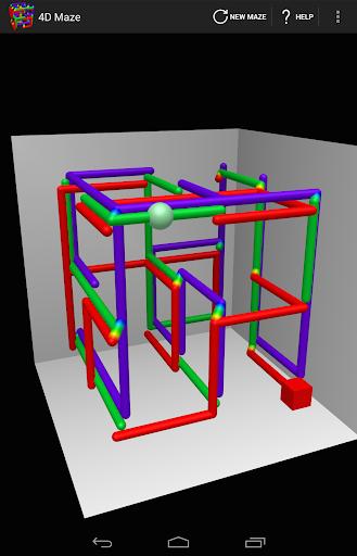 4D Maze