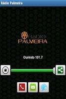 Screenshot of Rádio Palmeira AM740 e FM101.7