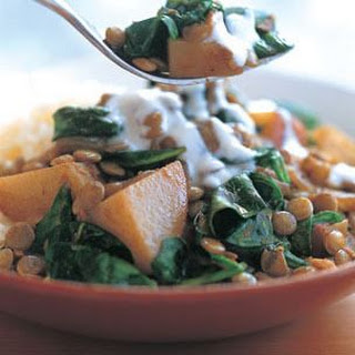 Lentil, Potato & Spinach Curry (Garam Masala)