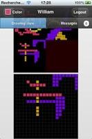 Screenshot of poietic generator