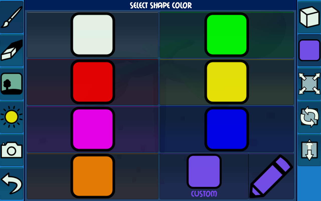 paint with shapes android apps on google play. Black Bedroom Furniture Sets. Home Design Ideas