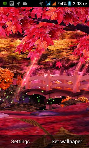 Autumn Grove 3D
