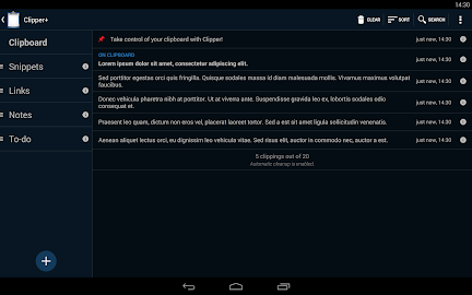 Clipper Plus with Sync Screenshot 11