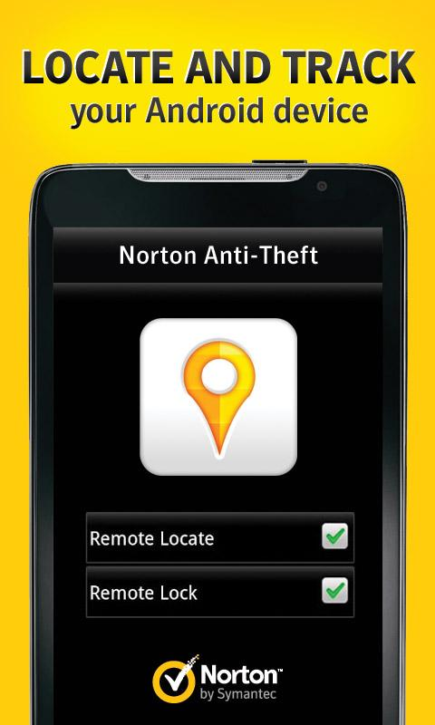 Norton Anti-Theft- screenshot
