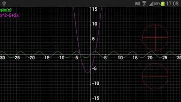 Screenshot of Scientific Plot Calculator