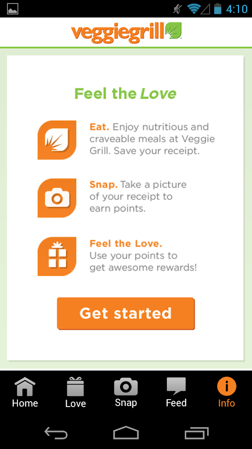 Veggie Grill - screenshot