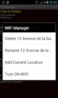 Screenshot of Wifi Manager PRO