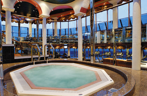 Costa-Mediterranea-Ischia-Spa - Costa Mediterranea's Ischia Spa includes a wellness center, gym, sauna and Turkish bath.