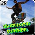 Super SkateBoard Runner 3D icon