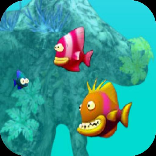 เกมส์ปลาใหญ่กินปลาเล็ก 家庭片 App LOGO-硬是要APP