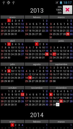 AR Holidays Annual Calendar
