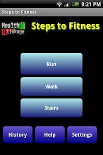 Step to Fitness Pedometer