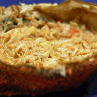 Stuffed Spider Crab