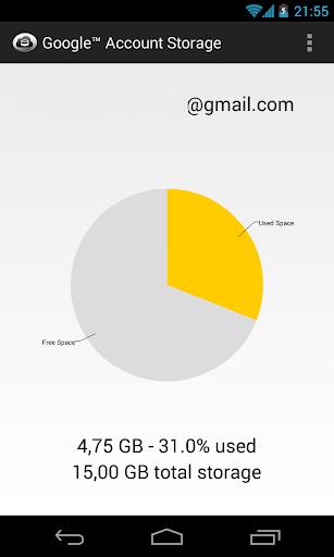 Google™ Account Storage