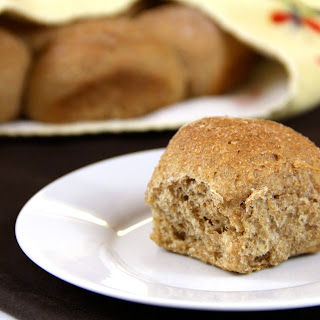 100% Whole Wheat Rolls