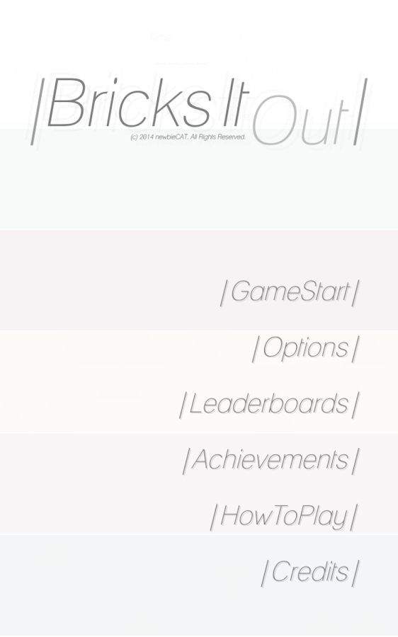 BricksItOut- screenshot