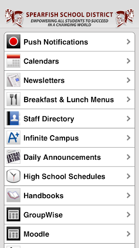 【免費教育App】Spearfish School District-APP點子