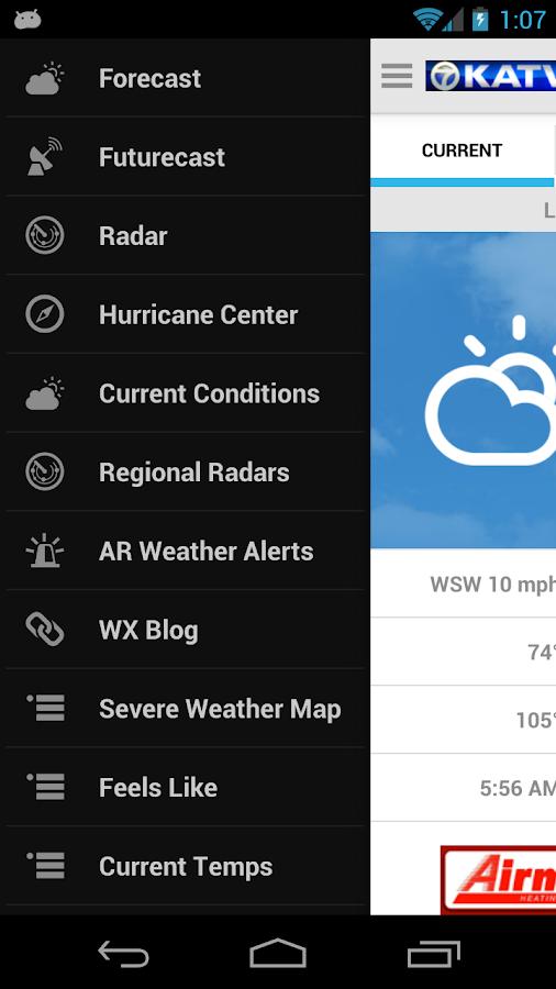 KATV Channel 7 Weather - screenshot