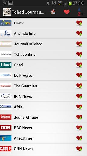 Tchad Journaux et Nouvelles
