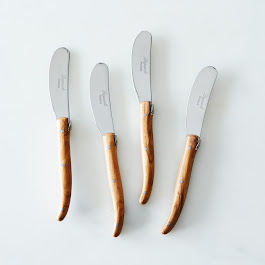 Olivewood Spreaders (Set of 4)
