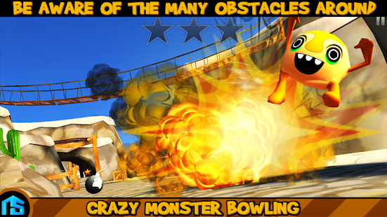 Crazy Monster Bowling - PRO - screenshot thumbnail